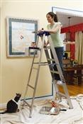 8' Aluminum Type I Step Ladder
