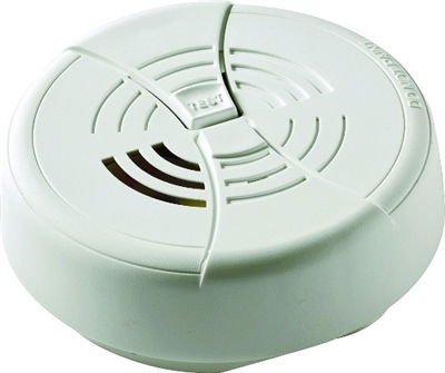 SMOKE ALARM W/ TEST 9V BATT