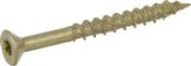"""Multi-Material Exterior Screw, #10 x 2"""", 1lb Box"""