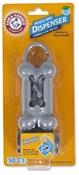 Arm & Hammer Bone Dispenser & Disposable Waste Bags, 1 Dispenser, 30 Bags