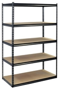 "48"" x 24"" x 72"" Metal/Wood Shelf Unit"