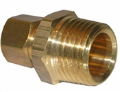 "5/8"" Compression x 3/8"" Male Pipe Thread Adapter"