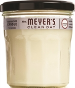 Candle,-Lite 41116 Soy Candle, 7.2 Oz Capacity, Lavender, White
