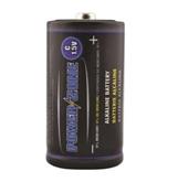 Powerzone LR14-4P-DB Alkaline Battery, C Battery, 1.5 V Battery 4 pack