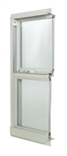 3060 300 Insulated Low-E Glass 9/6 White Single Hung Window