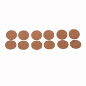Prosource FE-50702-PS Furniture Pad, Wood, Brown