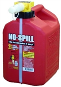 No Spill 2-1/2 Gallon Gasoline Can