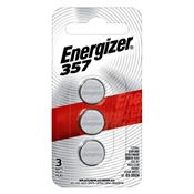 Energizer 357BPZ-3N 1.5 V Watch Battery, 3 Pack