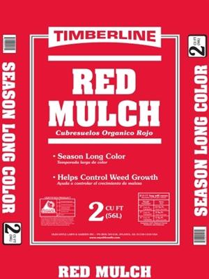 Shop Red Mulch 2 Cubic Feet At Mccoy S