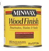 Wood Finish Oil Based English Chestnut 1/2 Pint