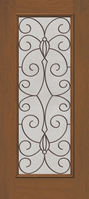 3068R Catalina Fullview Fiberglass Door, Oil Rubbed Bronze