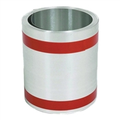 "8"" x 50' Standard Gauge Galvanized Roll Flashing"