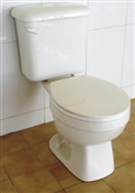 Round Front High Efficiency Toilet, White