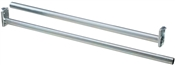 "30-48"" Adjustable Closet Rod, Zinc"