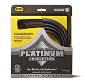 "84"" Collect Door Weatherstrip Replacement Brown"