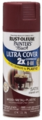 2X Painter's Touch Spray Paint Satin Claret Wine