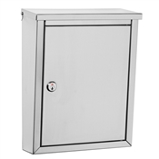 Regent Stainless Steel Wall Mount Mailbox