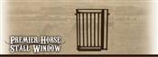 Premier Horse Stall Window - Brown