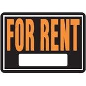 For Rent Hyglo Aluminum Sign