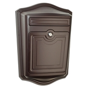 Maison Locking Wall Mount Mailbox