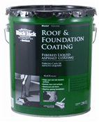 Fibered Roof & Foundation Coating - 4.75 Gal