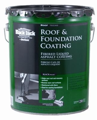 Shop Fibered Roof Amp Foundation Coating 4 75 Gal At Mccoy S