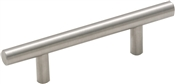 Amerock BP19010SS Cabinet Pull, 5-3/8 in L x 1-17/50 in H Handle, Stainless Steel