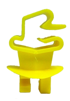 Wrap Around T-Post Claw Insulator Yellow - 25 Pack