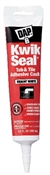 Kwik Seal Tub & Tile Adhesive Caulk White 5.5 Ounce