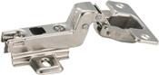 Amerock BP4613D14 Full Inset Hinge, Steel, Nickel