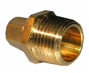 "1/4"" Compression x 1/2"" Male Pipe Thread Adapter"