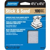 NORTON MultiSand 05452 Sanding Sheet, 100-Grit, Adhesive Backing