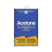 Klean Strip QAC18 Acetone Thinner, 1 qt Can