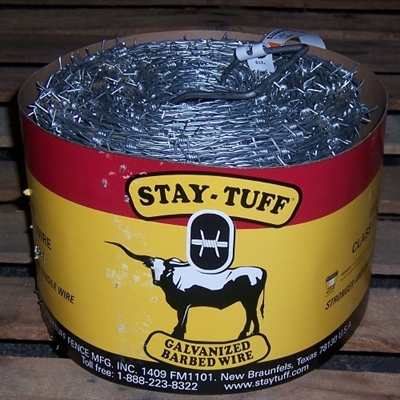 Shop Stay Tuff Barbed Wire High Tensile 2 Point Galvanized At Mccoys