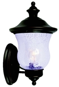 1 Light Coach Lantern Outdoor Wall Fixture, Oil Rubbed Bronze