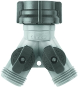Gilmour Green Thumb 17GT Shut Off Hose Y-Connector, Polymer