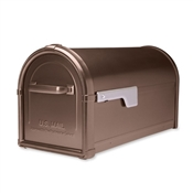 Copper Hillsborough Post Mount Mailbox