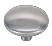 "1-1/4"" Round Cabinet Knob - Satin Nickel"