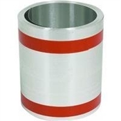 "24"" x 50' Standard Gauge Galvanized Roll Flashing"