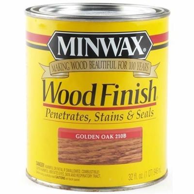 Wood Finish Oil Based Golden Oak, 1 Quart