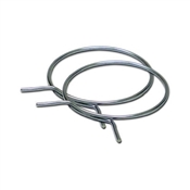 "4"" Metal Spring Hose Clamp"