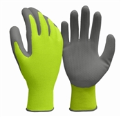 True Grip, Large, Men's, Yellow, Honeycomb High Viz Gloves