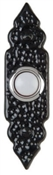 Lighted White Black Doorbell Button With Housing