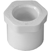 "1"" To 1/2"" Bushing Schedule 40 PVC"