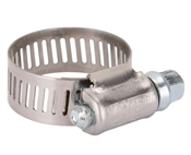 Interlocked Hose Clamp, #10, Stainless Steel