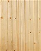 "5/16"" Beaded Knotty Pine Plank"