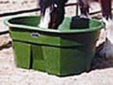 Green Poly Stock Tank - 155 Gallon