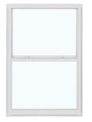 2030 300 Clear 1/1 Aluminum Single Hung Window, White