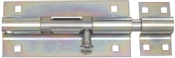 "8"" Heavy Duty Barrel Bolt, Zinc"