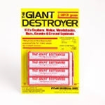 Giant Destroyer Cartridge Rodent Gasser 4 Pack